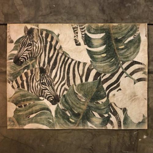 Mural  Zebras