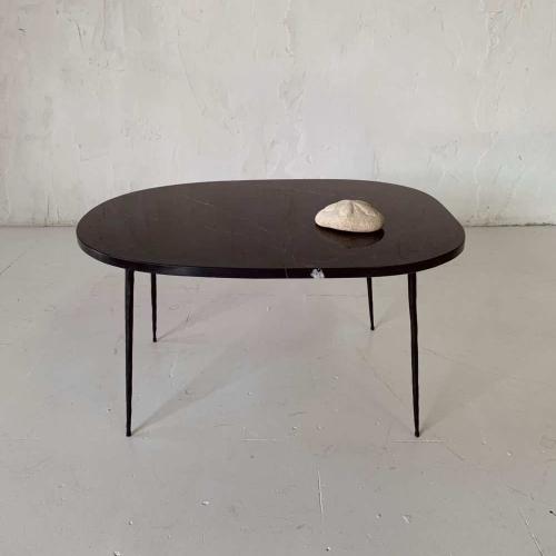 Mesa mármol negra