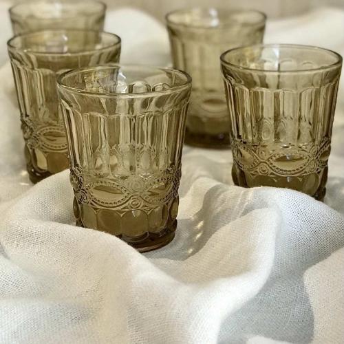 Set de 6 vasos II