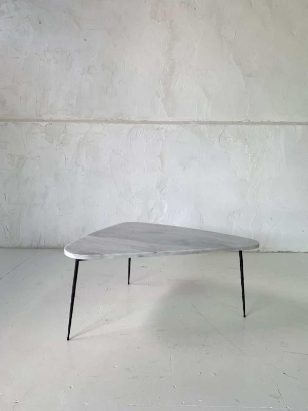 Mesa mármol blanca