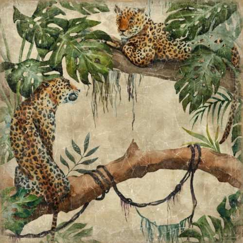 Mural Leopardos