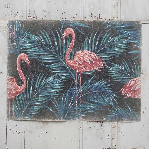 Mural Flamencos Rosa.