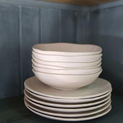 Set de 6 platos llanos .DMS/28358