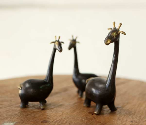 Animals Deco ( set de tres figuras) . DOBJ/2043