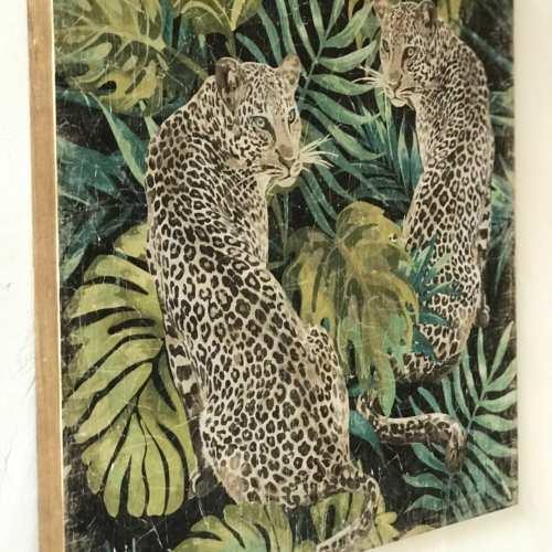 Cuadro Pareja de Tigres .DK/ALF00643DC-2