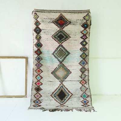 alfombra bereber dibujos geometricos