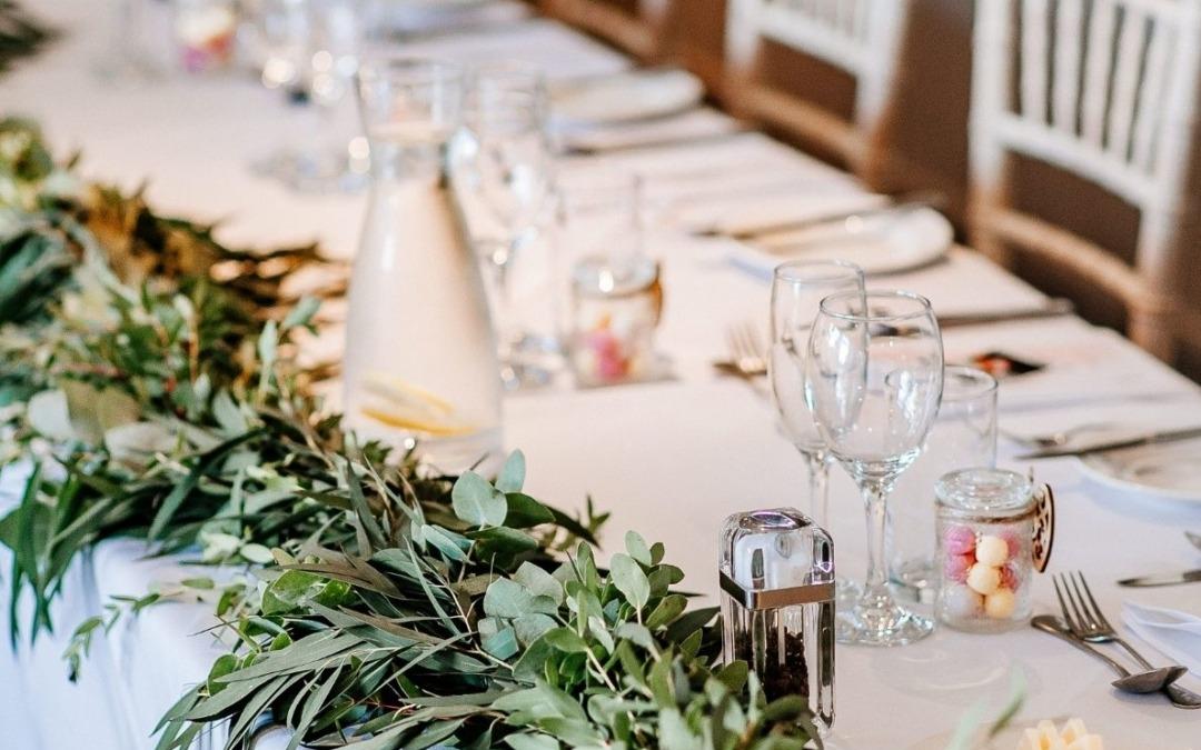 6 tendencias de decoración que triunfarán en las bodas en otoño de 2021