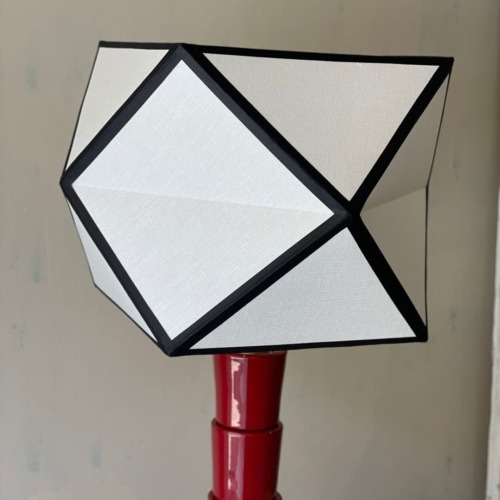 Lámpara Caleidoscopio roja ISLM/0278