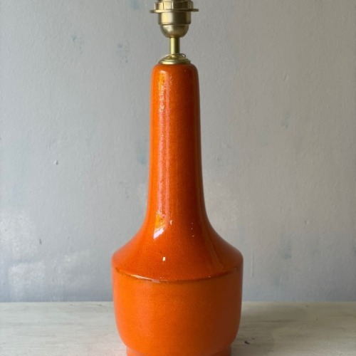 base ceramica naranja
