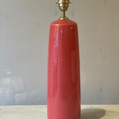base ceramica rojo claro