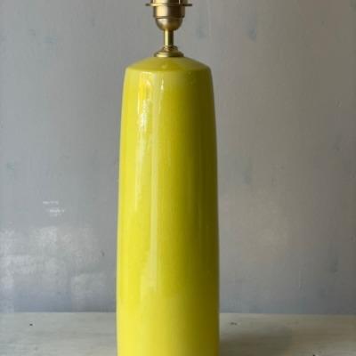 base ceramica amarilla