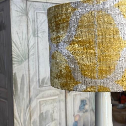 Lámpara beige / amarilla ILSM/0286